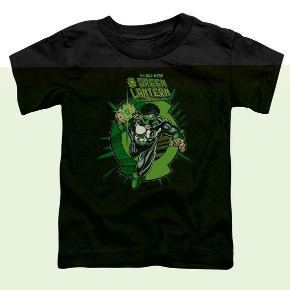 Green Lantern Rayner Cover Short Sleeve Toddler Tee Black Lg T-Shirt