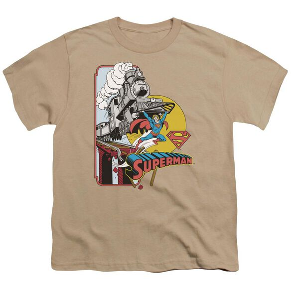 Dc Off The Rails Short Sleeve Youth T-Shirt