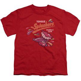 Dubble Bubble Distress Logo Short Sleeve Youth T-Shirt