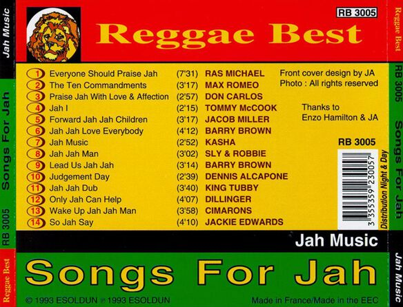 Jah Music 1193