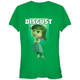 Inside Out Only Disgust Juniors T-Shirt