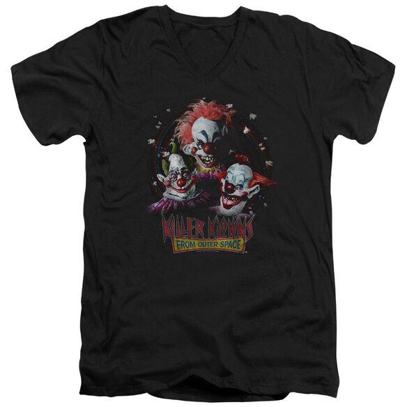 Killer Klowns From Outer Space Killer Klowns Short Sleeve Adult V Neck T-Shirt