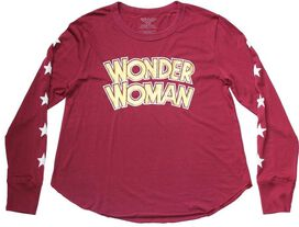 Wonder Woman LS Juniors T-Shirt