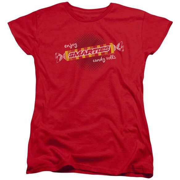 Smarties Enjoy Short Sleeve Womens Tee T-Shirt