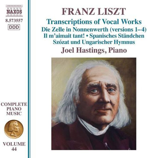Franz Liszt: Transcriptions Of Vocal Works