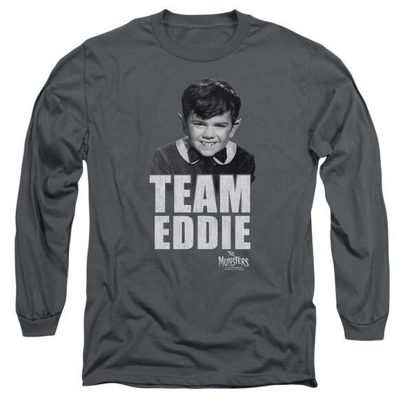 The Munsters Team Edward Long Sleeve Adult T-Shirt