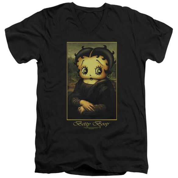 Betty Boop Boopalisa Short Sleeve Adult V Neck T-Shirt