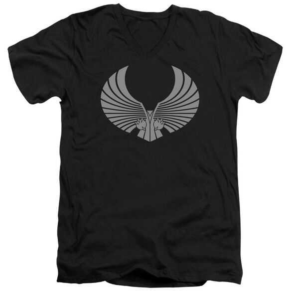 Star Trek Romulan Logo Short Sleeve Adult V Neck T-Shirt