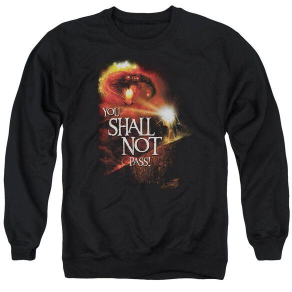 Lor You Shall Not Pass Adult Crewneck Sweatshirt
