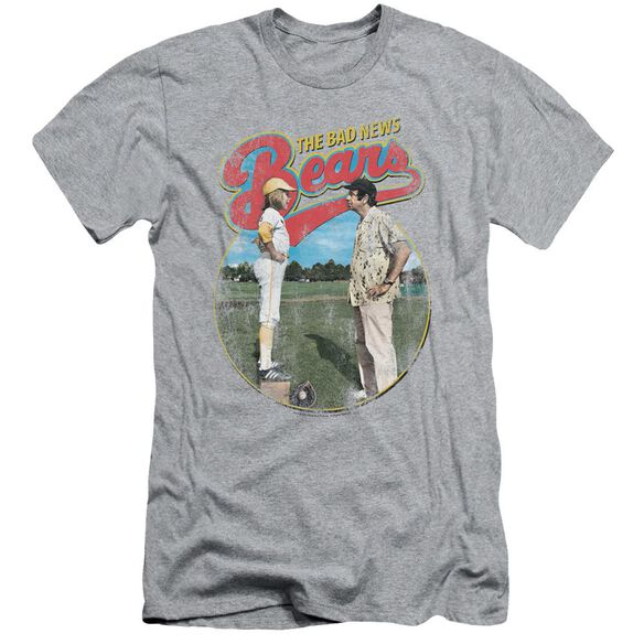 Bad News Bears Vintage Short Sleeve Adult Athletic T-Shirt
