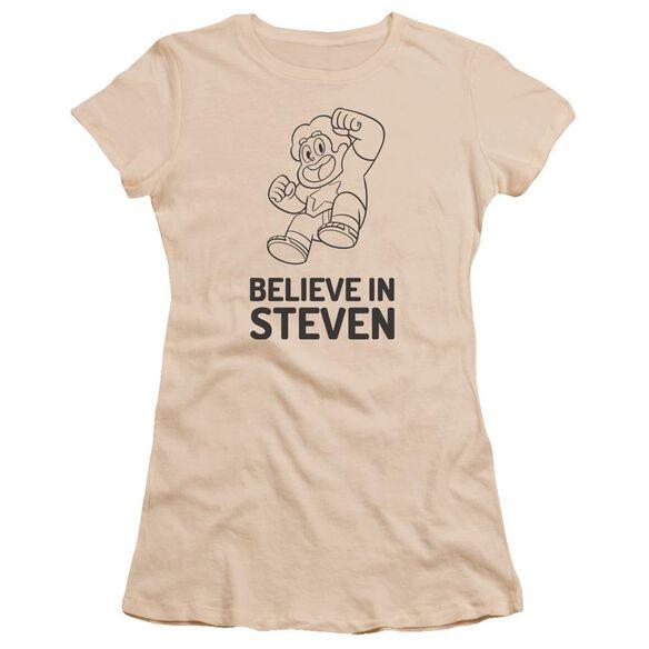 Steven Universe Believe In Steven Hbo Short Sleeve Junior Sheer T-Shirt