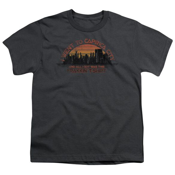 Bsg Caprica City Short Sleeve Youth T-Shirt