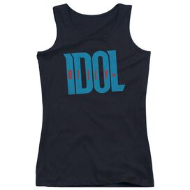 Billy Idol Logo Juniors Tank Top