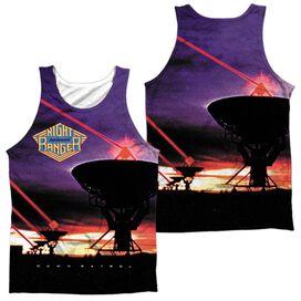 Night Ranger Dawn Patrol (Front Back Print) Adult Poly Tank Top