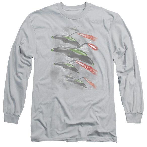 War Worlds Invasion Long Sleeve Adult T-Shirt