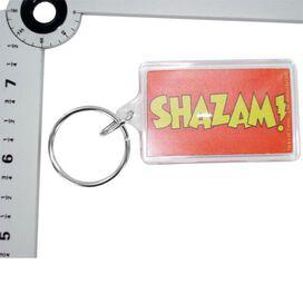 Shazam Name Keychain
