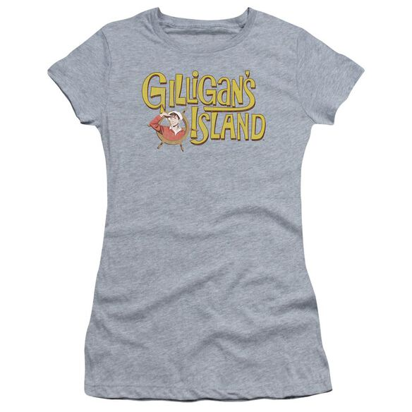 Gilligans Island Gilligans Logo Premium Bella Junior Sheer Jersey Athletic