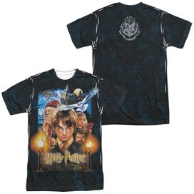 Harry Potter The Beginning (Front Back Print) Short Sleeve Adult Poly Crew T-Shirt