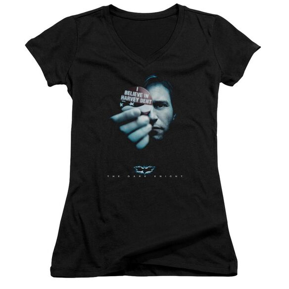 Dark Knight Harvey Dent Junior V Neck T-Shirt