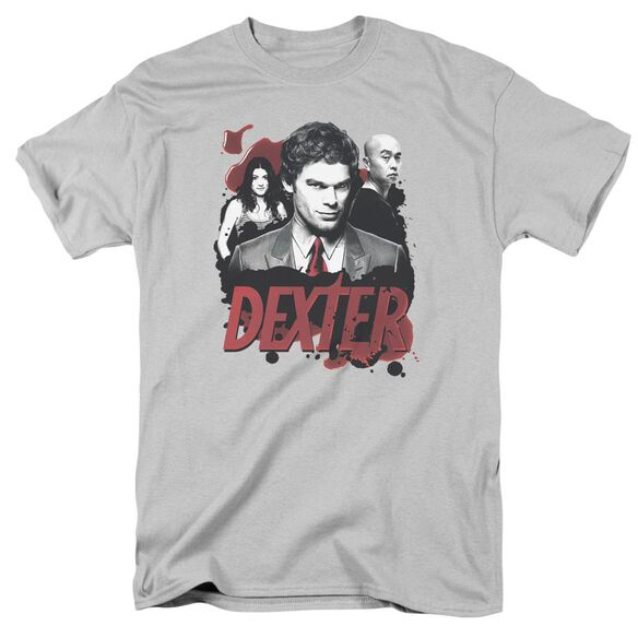 Dexter Bloody Trio Short Sleeve Adult T-Shirt