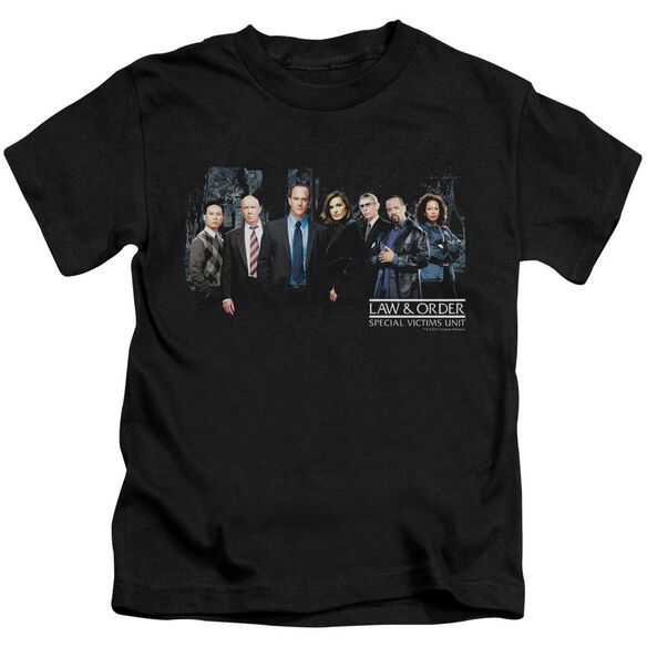 Law And Order Svu Cast Short Sleeve Juvenile Black Md T-Shirt