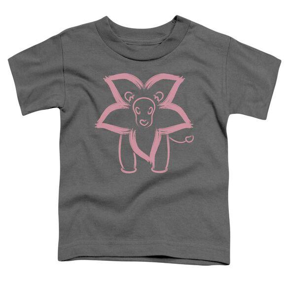 Steven Universe Lion Short Sleeve Toddler Tee Charcoal T-Shirt