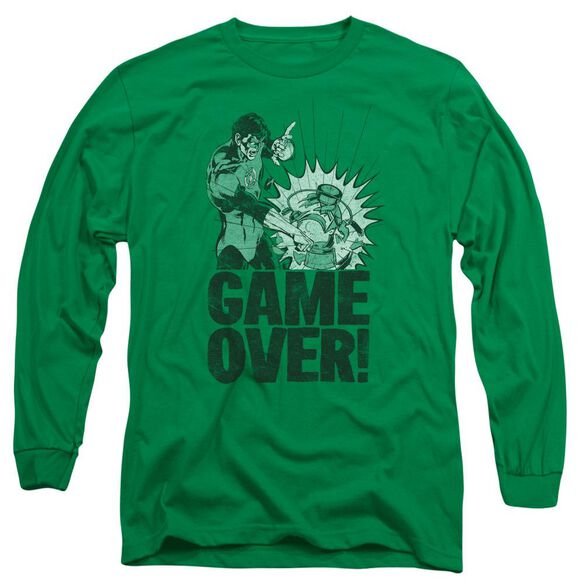 Lantern Game Over Long Sleeve Adult Kelly T-Shirt