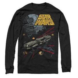 Star Wars Falcon Fight Long Sleeve T-Shirt