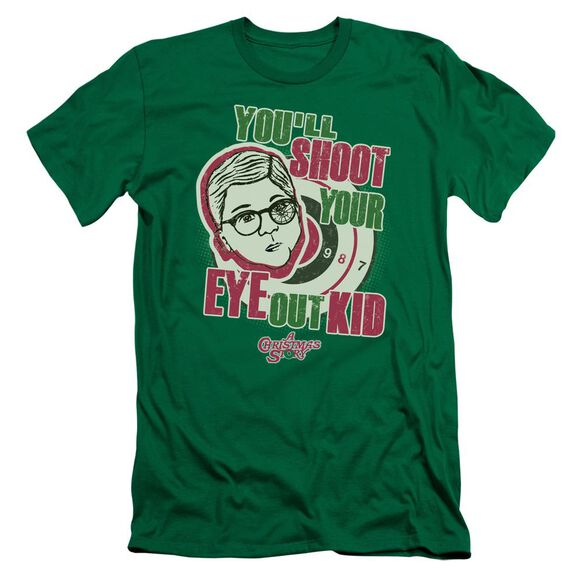 A Christmas Story Youll Shoot Your Eye Out Hbo Short Sleeve Adult Kelly T-Shirt