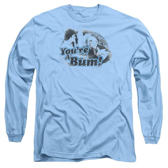 Rocky Youre A Bum Long Sleeve Adult Carolina T-Shirt