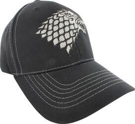 Game of Thrones Stark Silver Sigil Hat