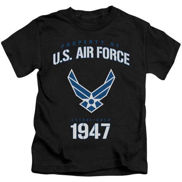 Air Force Property Of Short Sleeve Juvenile T-Shirt