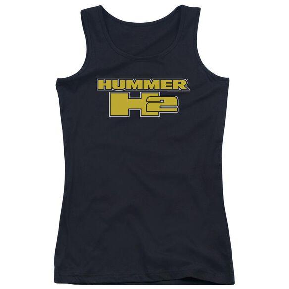Hummer H2 Block Logo Juniors Tank Top