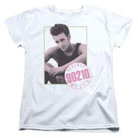 90210 Dylan Short Sleeve Womens Tee White T-Shirt