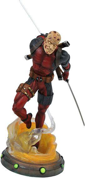 Marvel Gallery Unmasked Deadpool PVC Figure