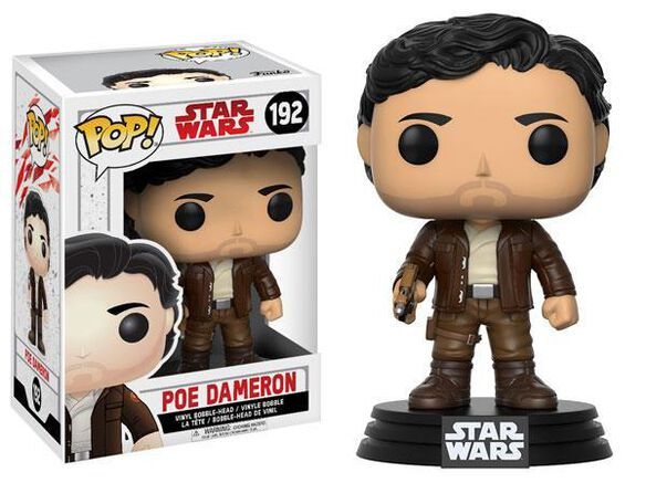 Funko Pop! Star Wars: EP8 - Poe Dameron