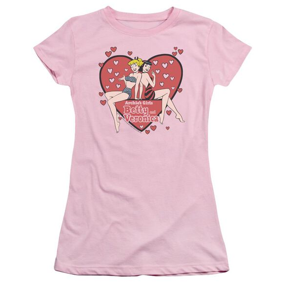 Archie Comics Archie's Girls Short Sleeve Junior Sheer T-Shirt