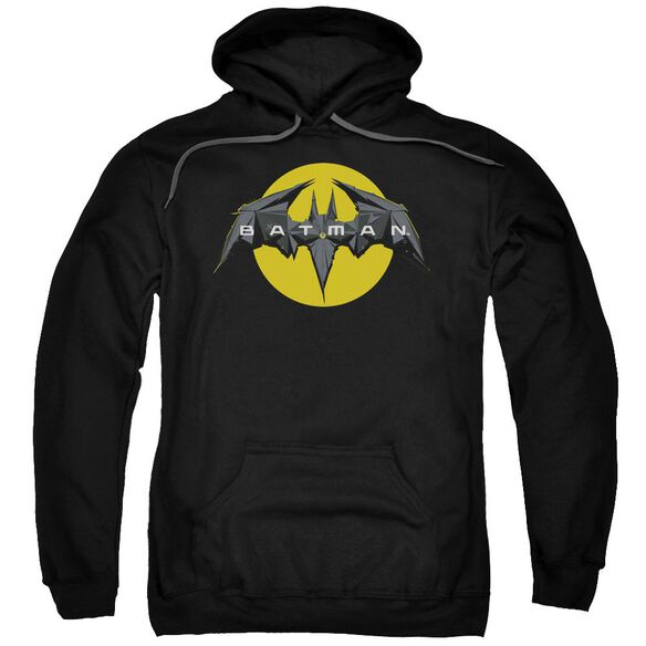 Batman Unlimited Tech Logo Adult Pull Over Hoodie