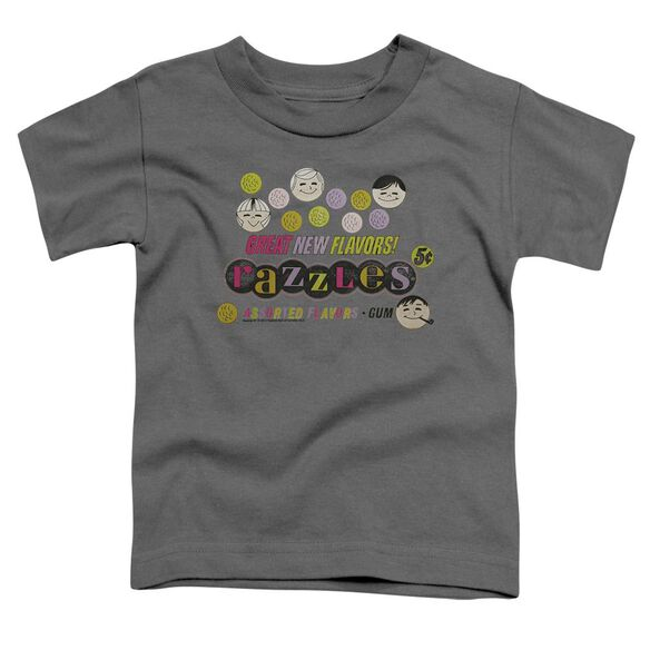 Dubble Bubble Razzles Retro Box Short Sleeve Toddler Tee Charcoal Md T-Shirt