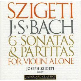 Joseph Szigeti - 6 Sonatas & Partitas for Solo Violin