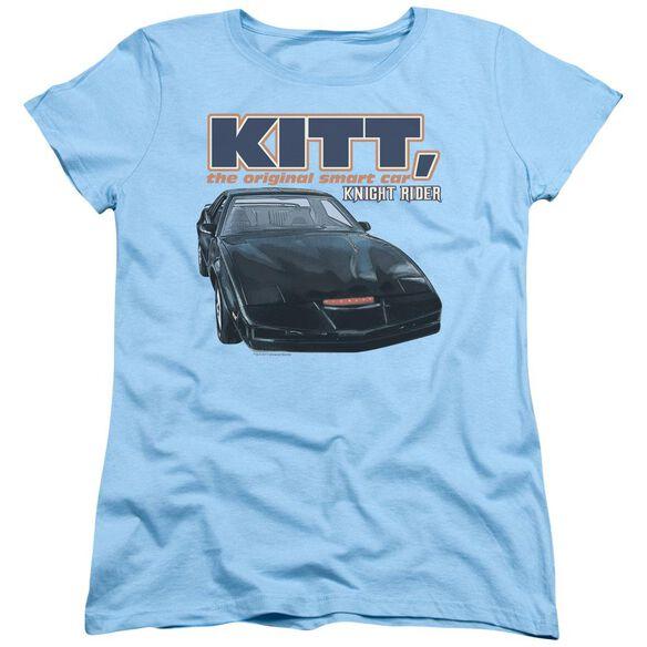 Knight Rider Original Smart Car Short Sleeve Womens Tee Light T-Shirt