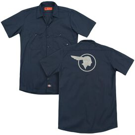 Pontiac Old Chief Pontiac (Back Print) Adult Work Shirt