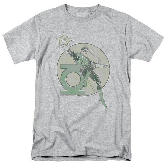 Dco Retro Lantern Iron On Short Sleeve Adult Athletic Heather T-Shirt