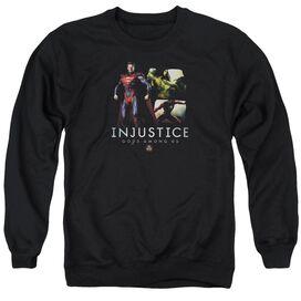 Injustice Gods Among Us Supermans Revenge Adult Crewneck Sweatshirt