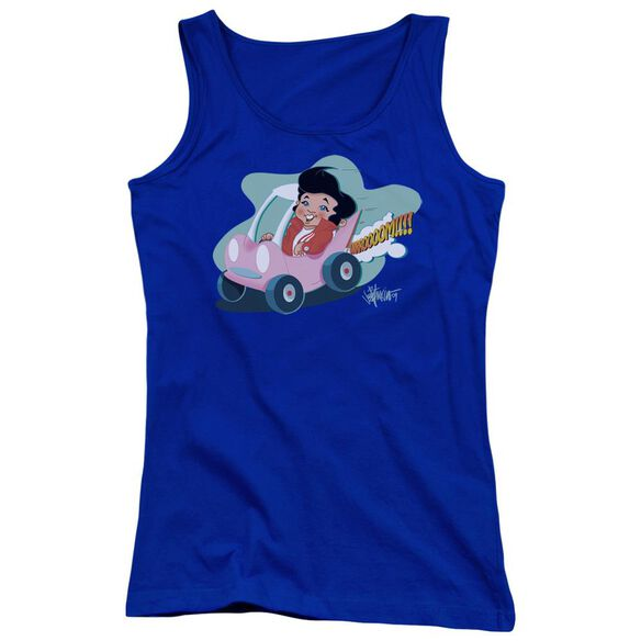 Elvis Presley Speedway Juniors Tank Top Royal