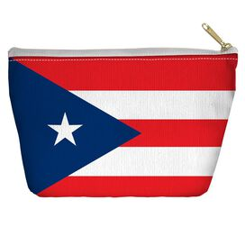 Puerto Rico Flag Accessory Pouch