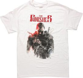 Punisher In the Blood Issue 1 Cover T-Shirt