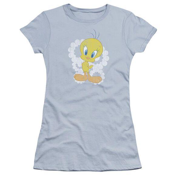 Looney Tunes Retro Tweety Hbo Short Sleeve Junior Sheer Light T-Shirt