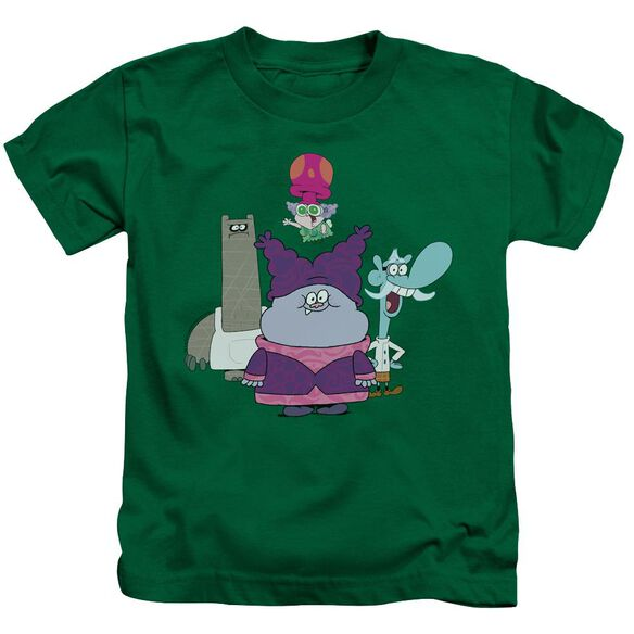 Chowder Group Short Sleeve Juvenile Kelly Green Md T-Shirt
