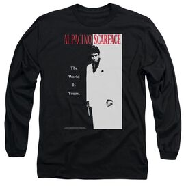 Scarface Classic Long Sleeve Adult T-Shirt